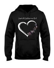 California girl Hooded Sweatshirt front