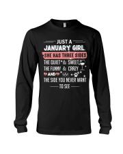 Just a january girl Long Sleeve Tee thumbnail