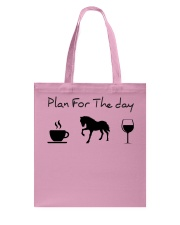 Plan for the day horse Tote Bag thumbnail