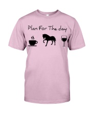 Plan for the day horse Classic T-Shirt thumbnail