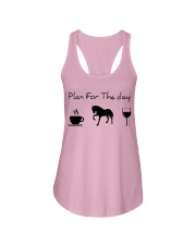 Plan for the day horse Ladies Flowy Tank thumbnail