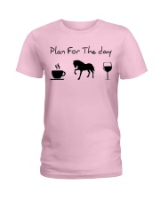 Plan for the day horse Ladies T-Shirt thumbnail