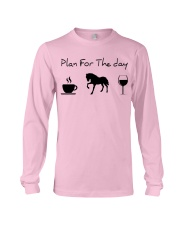 Plan for the day horse Long Sleeve Tee thumbnail