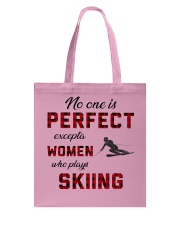 Skiing perfect Tote Bag thumbnail