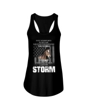 I am the storm-horse Ladies Flowy Tank thumbnail
