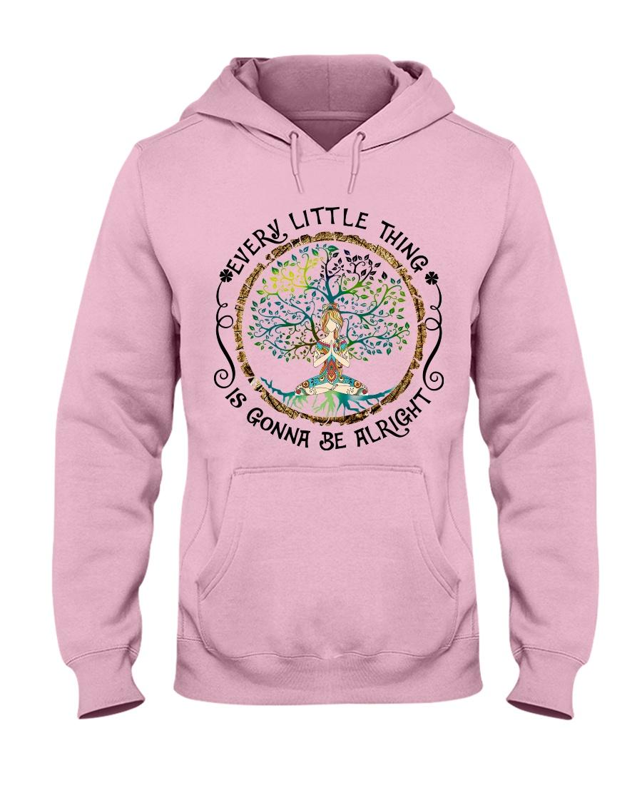 every little thing yoga Hooded Sweatshirt