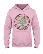 every little thing yoga Hooded Sweatshirt front