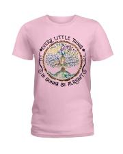 every little thing yoga Ladies T-Shirt thumbnail