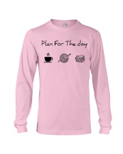 Plan for the day crochet and books Long Sleeve Tee thumbnail