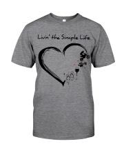 living the simple life - motocross Classic T-Shirt thumbnail