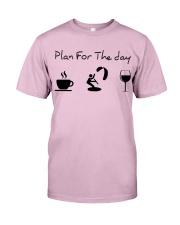 Plan for the day kitesurfing Classic T-Shirt thumbnail