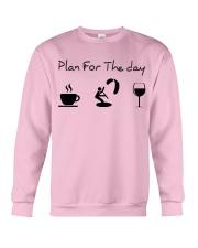 Plan for the day kitesurfing Crewneck Sweatshirt thumbnail