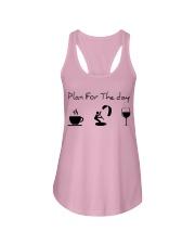 Plan for the day kitesurfing Ladies Flowy Tank thumbnail
