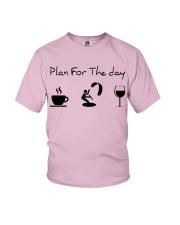 Plan for the day kitesurfing Youth T-Shirt thumbnail
