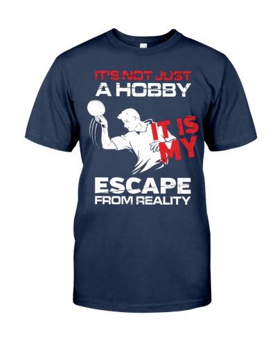 table tennis hobby man
