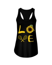 Love tennis Ladies Flowy Tank thumbnail