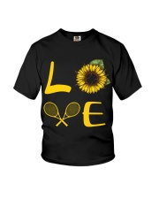Love tennis Youth T-Shirt thumbnail
