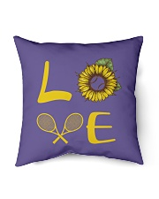 "Love tennis Indoor Pillow - 16"" x 16"" thumbnail"
