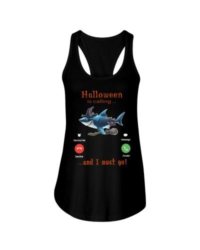 shark is calling halloween