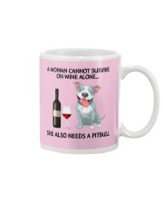 A woman can not survice alone Mug thumbnail