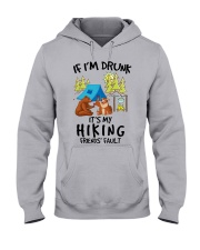 if i'm drunk camping1 Hooded Sweatshirt front