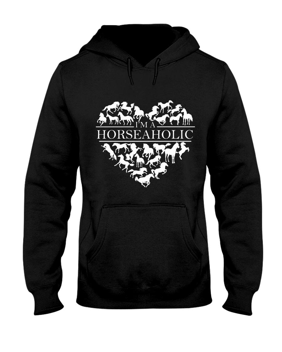 i am horse aholic Hooded Sweatshirt