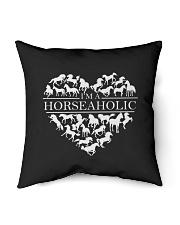 """i am horse aholic Indoor Pillow - 16"""" x 16"""" thumbnail"""