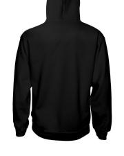 Skiing lady Hooded Sweatshirt back