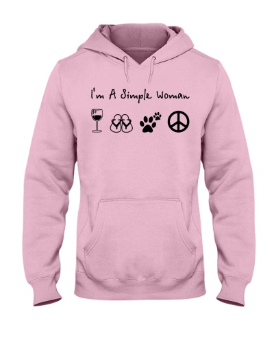 hippie i am a simple woman