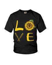 Love baseball Youth T-Shirt thumbnail