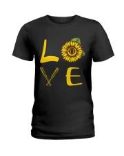 Love baseball Ladies T-Shirt thumbnail