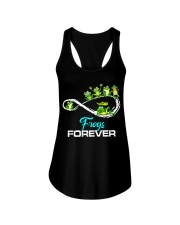 frogs forever Ladies Flowy Tank thumbnail