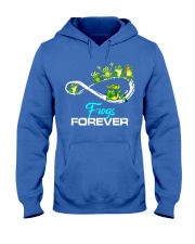 frogs forever Hooded Sweatshirt front