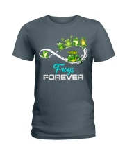 frogs forever Ladies T-Shirt thumbnail