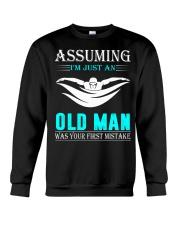 swimming old man Crewneck Sweatshirt thumbnail
