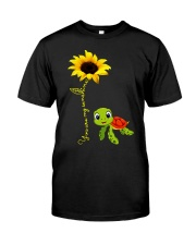 You are my sunshine turtle Classic T-Shirt front
