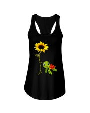 You are my sunshine turtle Ladies Flowy Tank thumbnail