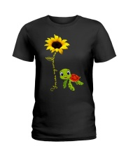 You are my sunshine turtle Ladies T-Shirt thumbnail