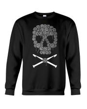 Crochet Crocheting skull Crewneck Sweatshirt thumbnail