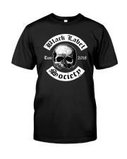 Black Label Society of 2018 North American Tour Classic T-Shirt front