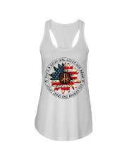 Shes a good girl loves her mama loves jesus americ Ladies Flowy Tank thumbnail