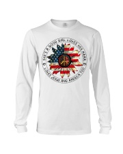 Shes a good girl loves her mama loves jesus americ Long Sleeve Tee thumbnail