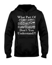 What part of dont you understand music funny Hooded Sweatshirt thumbnail