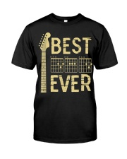 Best Guitar Dad Ever Classic T-Shirt front