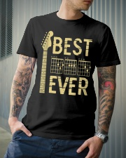 Best Guitar Dad Ever Classic T-Shirt lifestyle-mens-crewneck-front-6