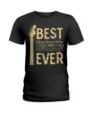 Best Guitar Dad Ever Ladies T-Shirt thumbnail