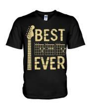Best Guitar Dad Ever V-Neck T-Shirt thumbnail