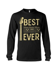 Best Guitar Dad Ever Long Sleeve Tee thumbnail