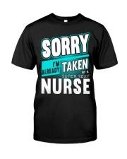Already Taken By A Super Sexy Nurse T-shirt Classic T-Shirt front