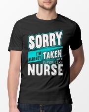 Already Taken By A Super Sexy Nurse T-shirt Classic T-Shirt lifestyle-mens-crewneck-front-13